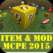 Item & Mod MCPE 2015