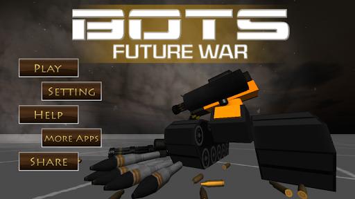 机器人 未来 战争 3D