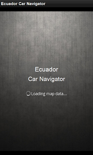 GPS Navigation Ecuador