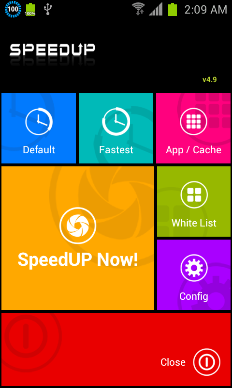 SpeedUP - screenshot