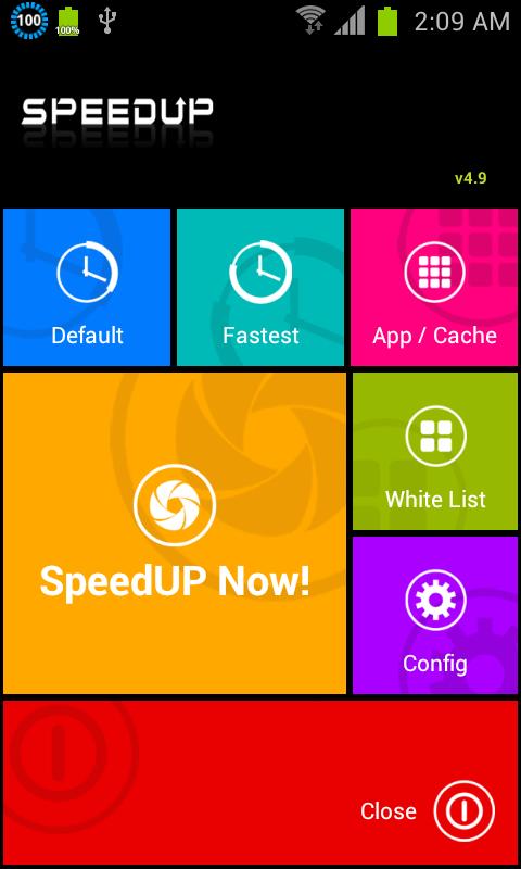 SpeedUP- screenshot