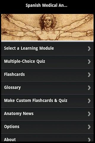 Spanish Medical Anatomy Guide - anatomy Spain Android Medical App