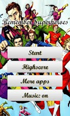 Remember Game: Superheroes Android Casual