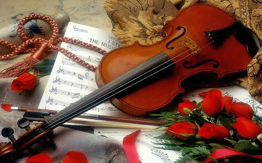 小提琴壁紙
