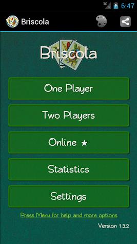 Briscola Online HD - La Brisca Screenshot