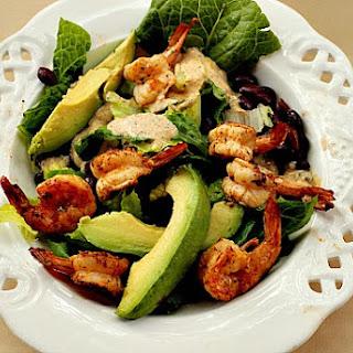 Shrimp Salad with Chipotle Dressing.