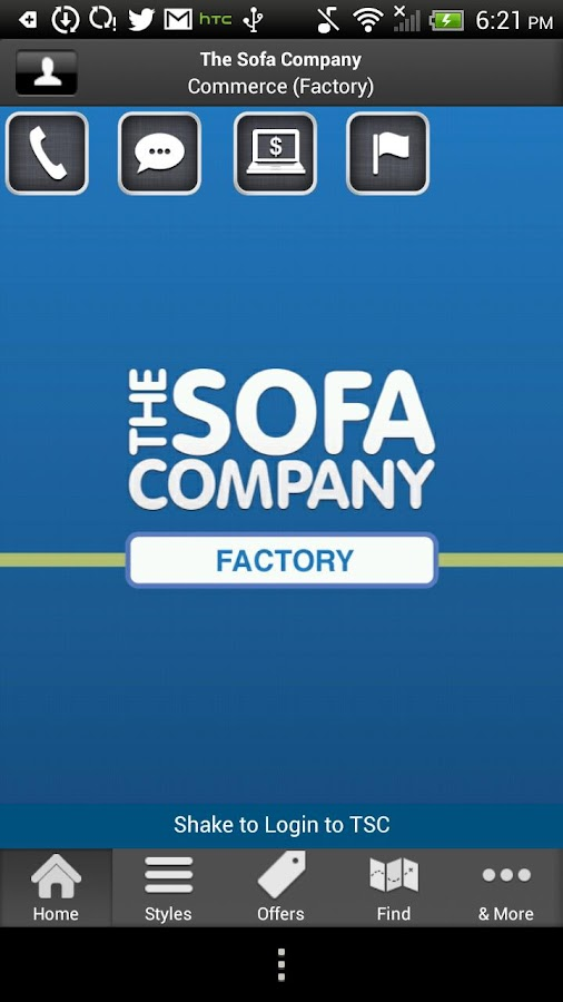 The Sofa Company- screenshot