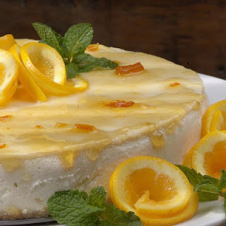 Orange Marmalade Cheesecake.