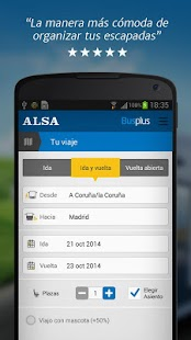 ALSA: buy your bus tickets - screenshot thumbnail