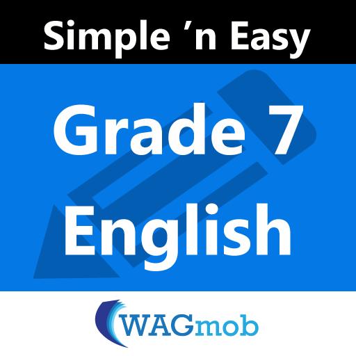 Grade 7 English by WAGmob LOGO-APP點子