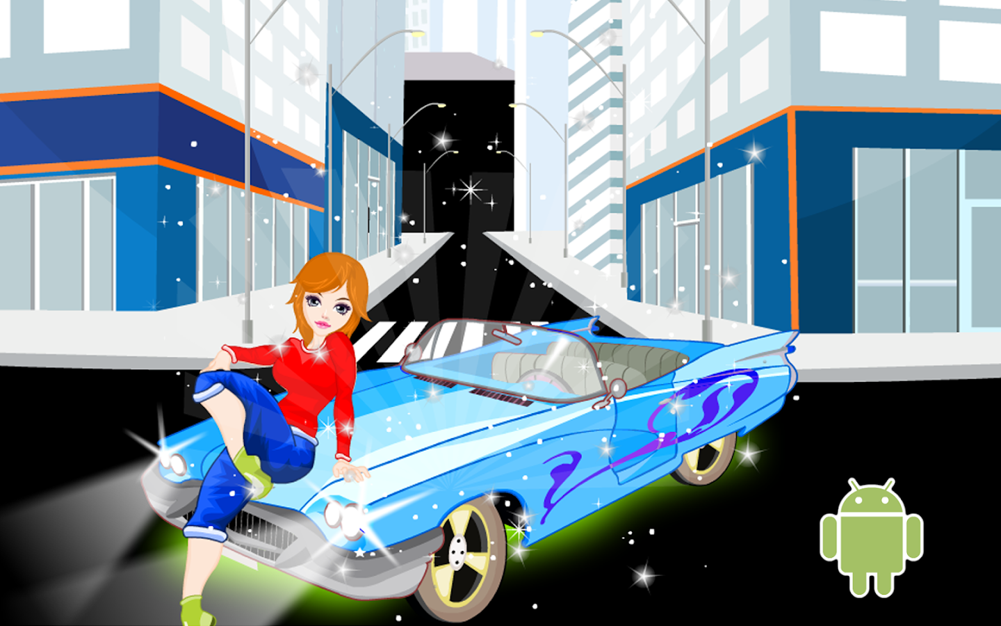 Girls game decorating car android apps on google play for 143dressup games decoration