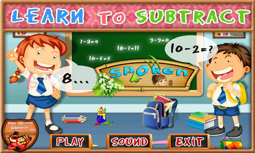 Subtract Free e-Learning Game