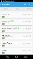 Screenshot of iFont Donate