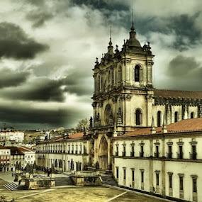 Alcobaça Monastery by José M G Pereira - Buildings & Architecture Public & Historical ( church, monastery, algobaça, historical building,  )