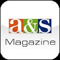 a&s Magazine logo