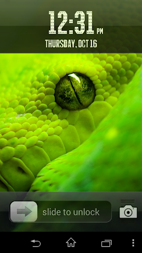 Slide To ScreenLock