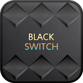 Black Switch go sms theme