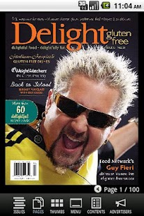 Delight Gluten-Free Magazine- screenshot thumbnail
