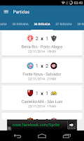 Screenshot of Brazilian League 2014