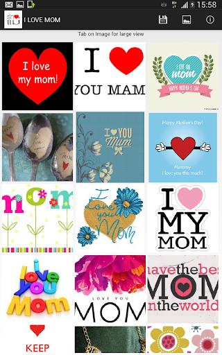 คำบอกรักแม่ I Love Mom