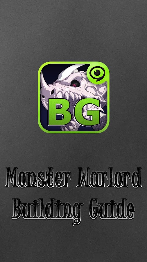 Build Guide for MonsterWarlord- screenshot