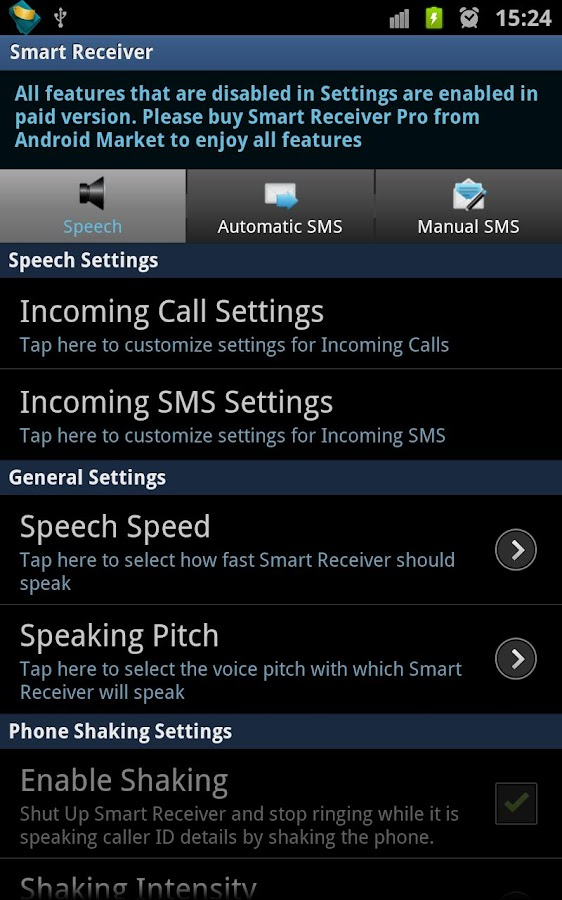 Smart Receiver (Free)- screenshot