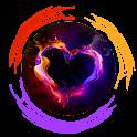 Vibrant Heart Clauncher Theme icon
