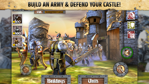 Heroes and Castles Screenshot 1