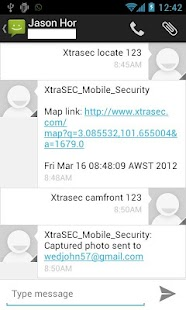 XtraSEC Phone Locator - screenshot thumbnail