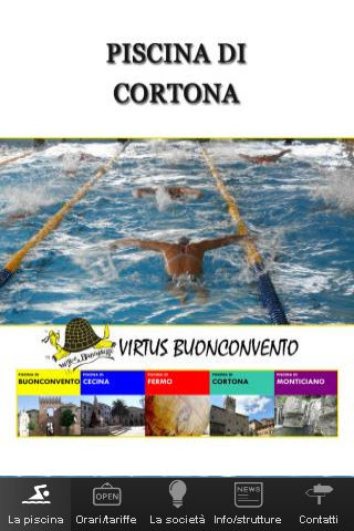 Piscina di Cortona