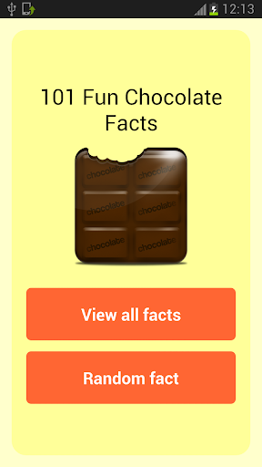 101 Fun Chocolate Facts