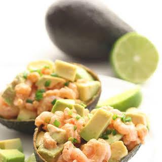 Spicy Shrimp and Avocado Salad.