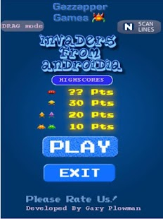 Invaders from Androidia (Free) - screenshot thumbnail
