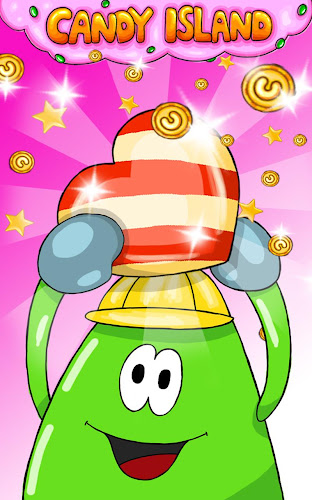 Candy Island Free: Sweet Shop Android App Screenshot