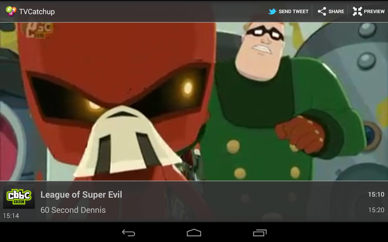 TVCatchup - screenshot