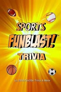Sports FunBlast Trivia Quiz - screenshot thumbnail