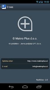 Parkirišča - screenshot thumbnail