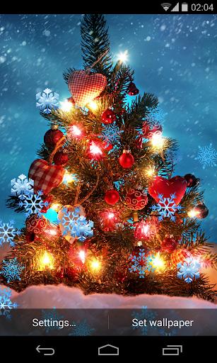 Christmas Snowflakes LWP