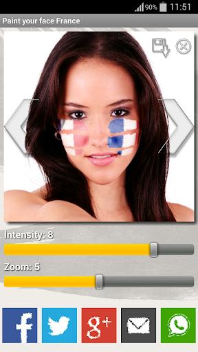 Paint your face France