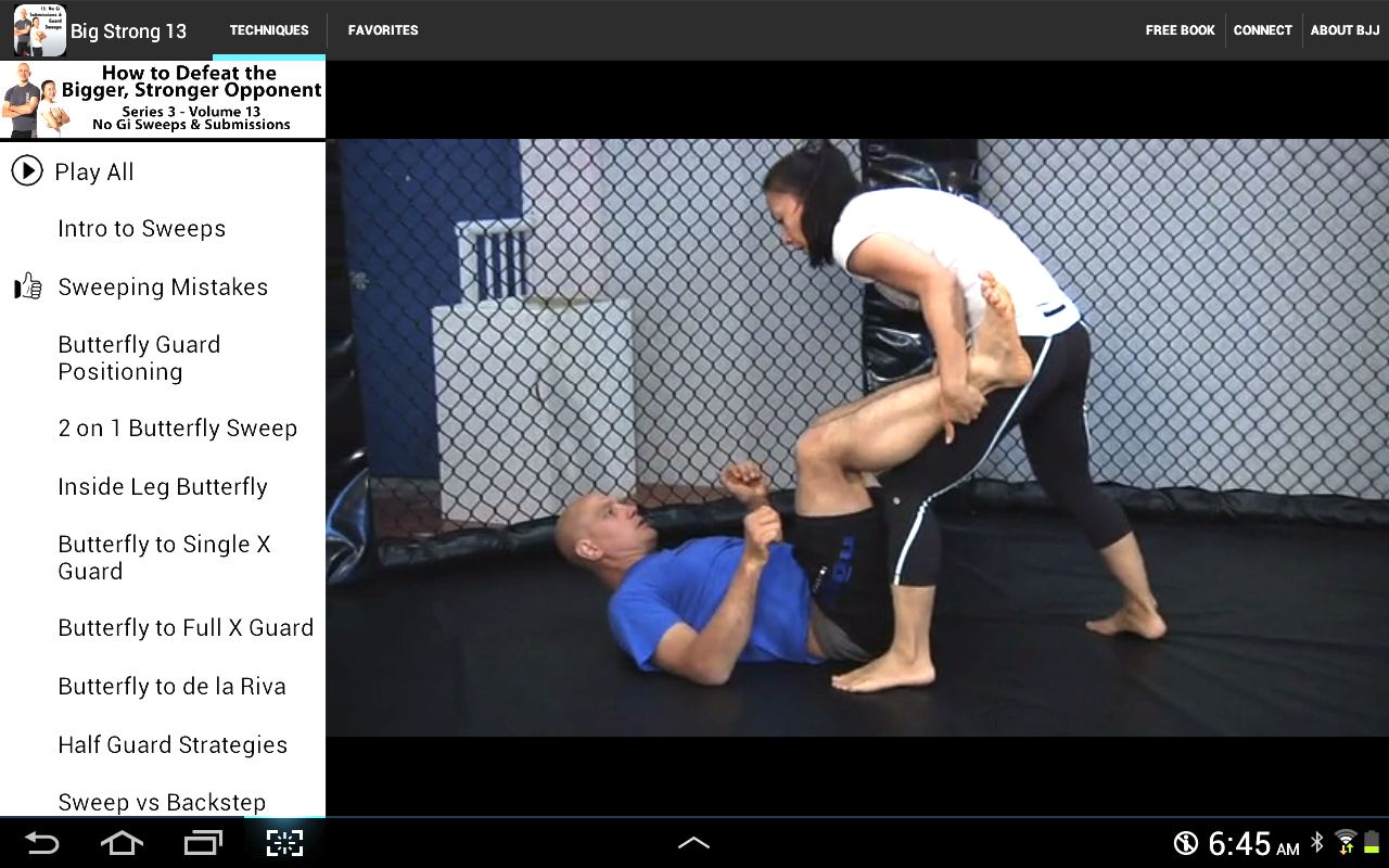 BigStrong 13, Guard Sweeps- screenshot
