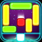 Jelly Gravity Block Go Home icon