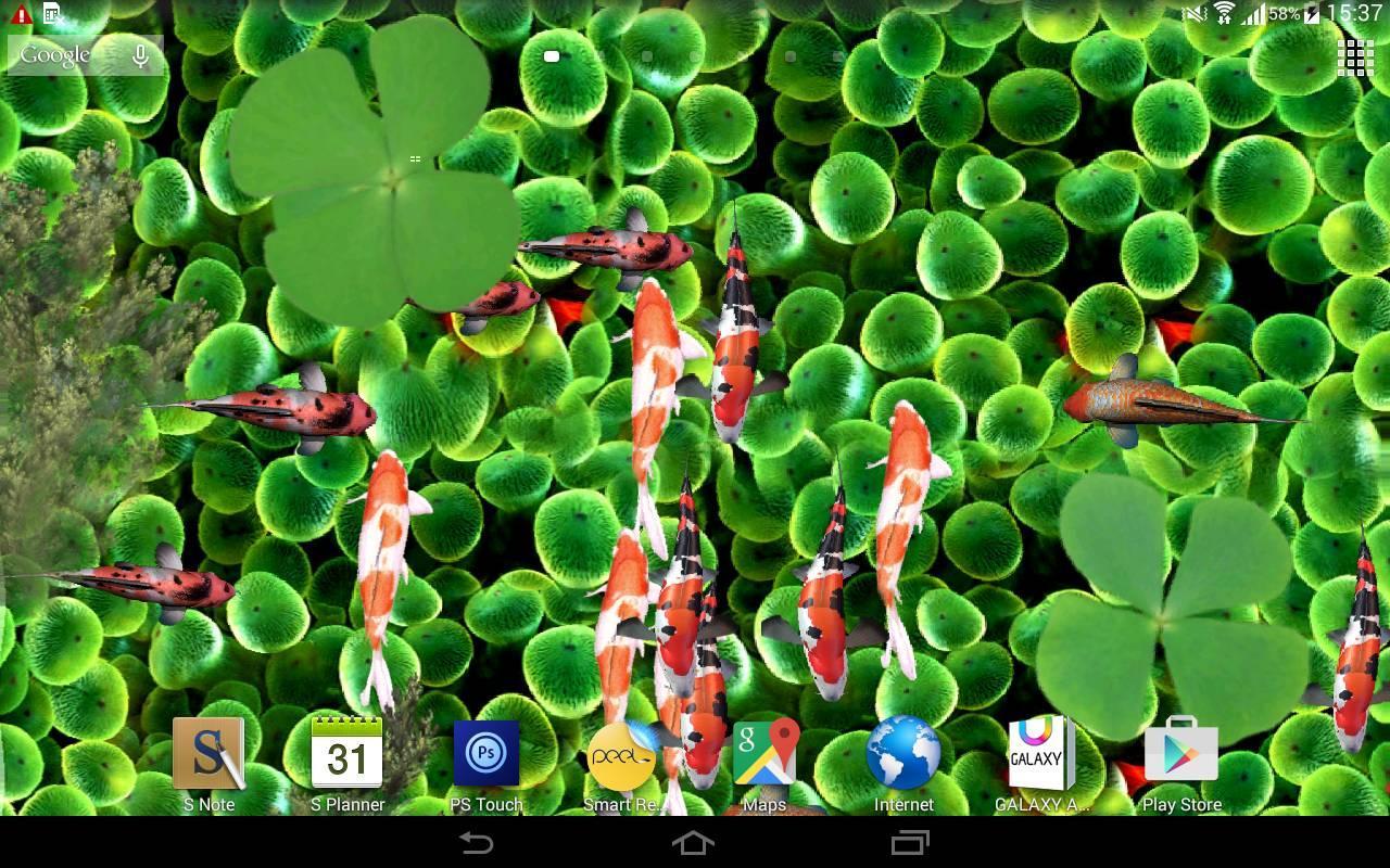 download koi fish aquarium live wallpaper 3d apk latest version app