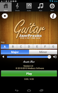 Guitar Jam Tracks Scales Buddy - screenshot thumbnail