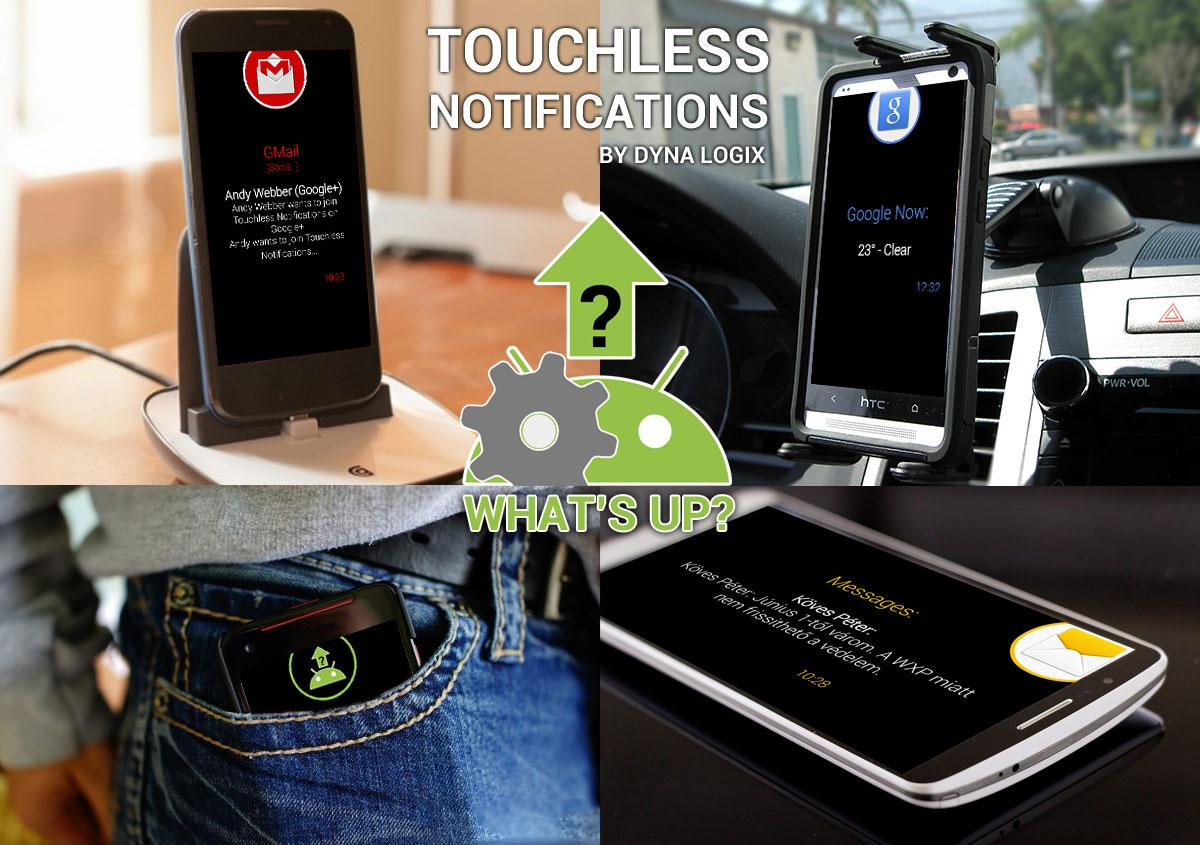 Touchless Notifications Free- screenshot