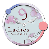 Analog Clocks Pack 9 Ladies