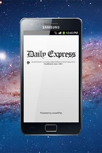 Daily Express Sabah- screenshot thumbnail