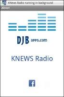 Screenshot of KNews Radio