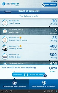 E-Water Footprint- screenshot thumbnail