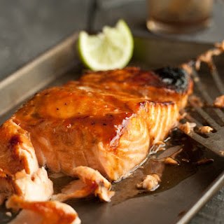 Grilled Salmon with a Miso Honey Glaze Recipe