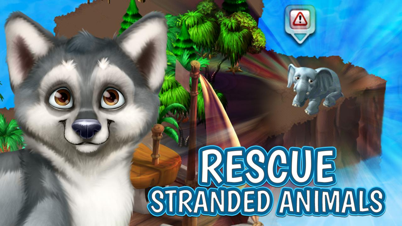 Animal Voyage:Island Adventure- screenshot